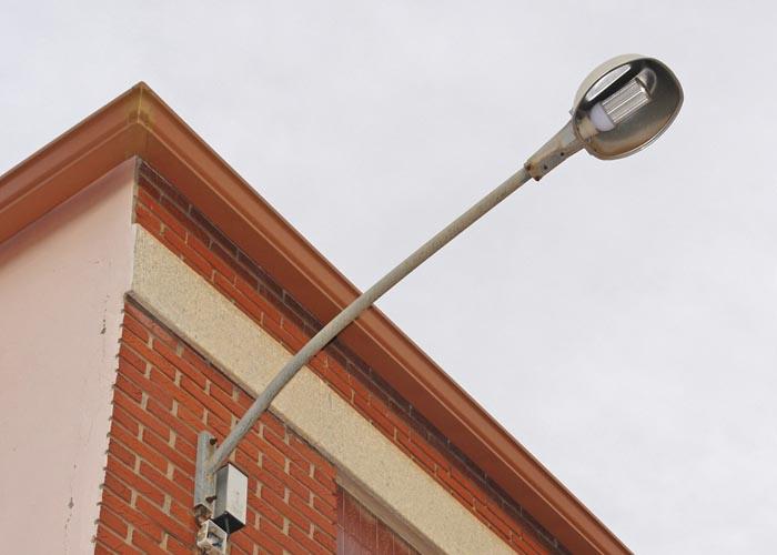 Imatge de les noves faroles LED que el consistori està implantant.