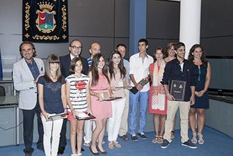 Entrega de premios al mérito académico en Benaguasil, comarca del Camp de Túria