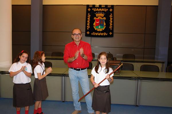 L'alumna Andrea nova alcaldessa