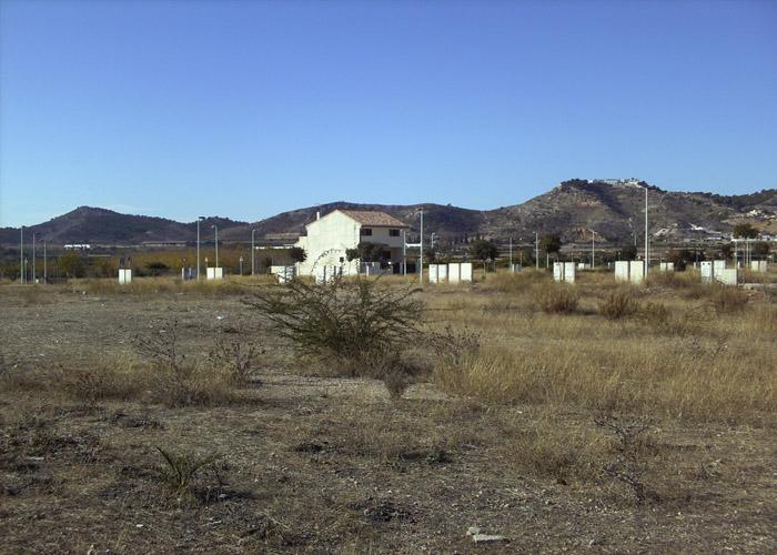 Imatge de la vivenda construida als terrenys del PAI