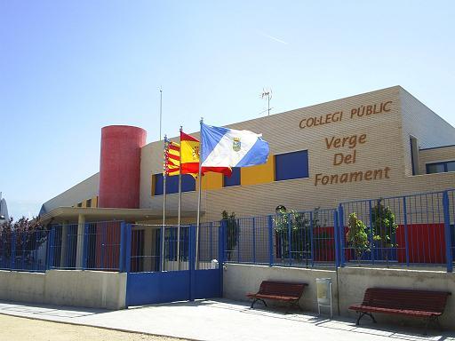 El colegio Verge del fonament se quedará sin conserje