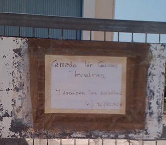 Cierre del 'Pou de Benissanó'