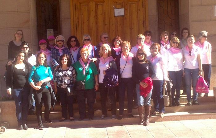 Grupo de voluntarias de la asociación española contra el cáncer de Bétera.