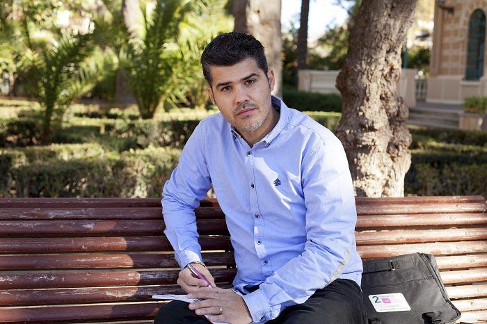El candidato de UPyD a la alcaldía de Bétera, David Aloy.