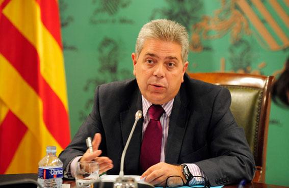 El diputado de Cooperación Municipal, Juan José Medina.