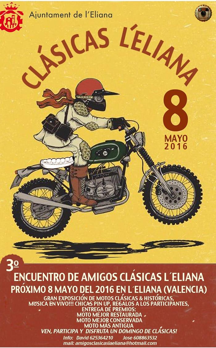 Cartel Clásiclas l'Eliana