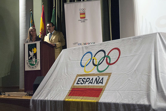 Presentación 'Todos olímpicos' en el Colegio IALE