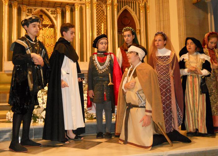 Representació de Sant Vicent en l'Eliana