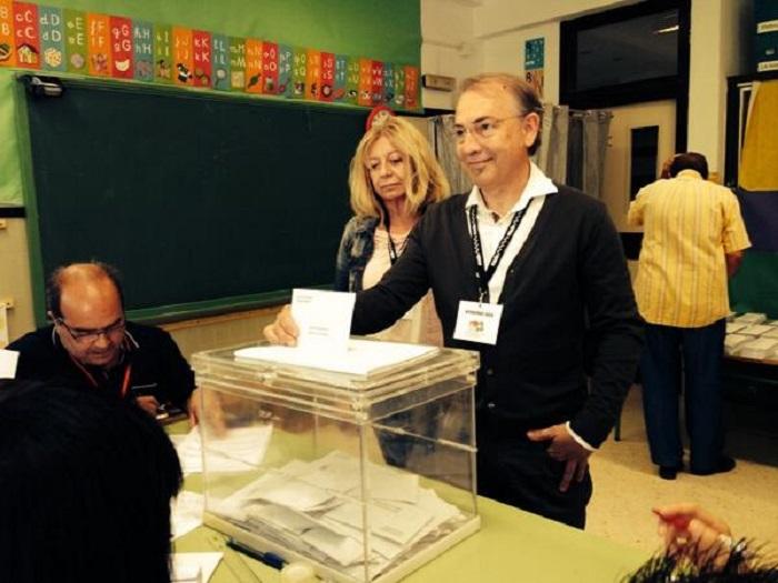 El candidato de Sumem per l'Eliana y actual concejal de EU, José Lorente.