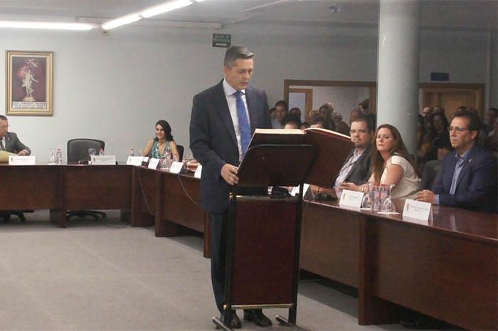 Toma de posesión del cargo de alcalde de Josep Vicent