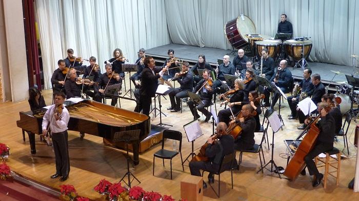 Actuación de la orquesta de la orquesta Covent Garden en Llíria.