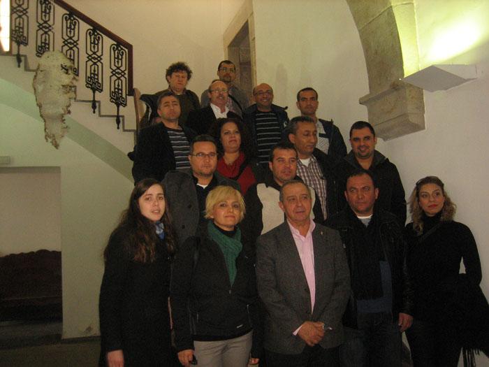 Docents turcs visiten l'Escola Taller Laurona VI