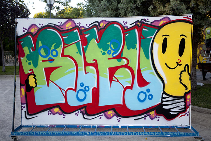 Guanyador GraffitArt 2013 categoria B