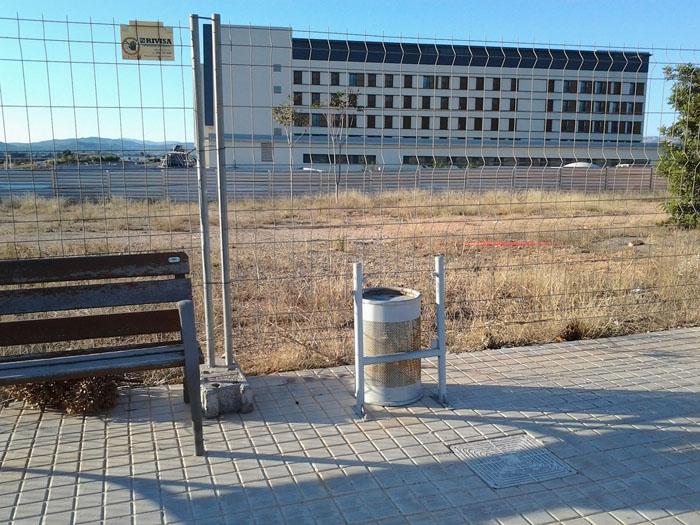 Actos vandálicos en el Hospital de Llíria
