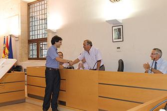 José Miguel Maicas en el acto de toma de posesión