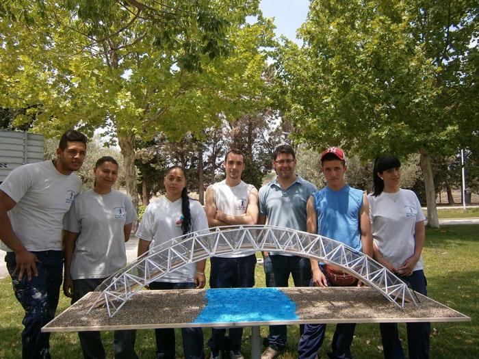Alumnes del Taller 'Laurona VI' presenten un projecte