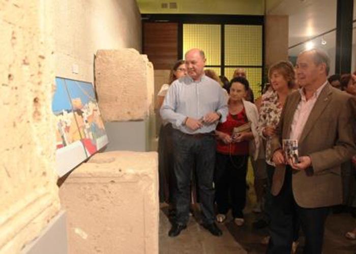 Una de las exposiciones organizadas en el Museo Arqueológico de Llíria.