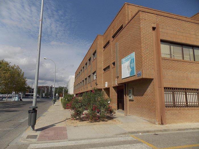 Centro de salud de Llíria dependiente de la Conselleria de Sanidad.