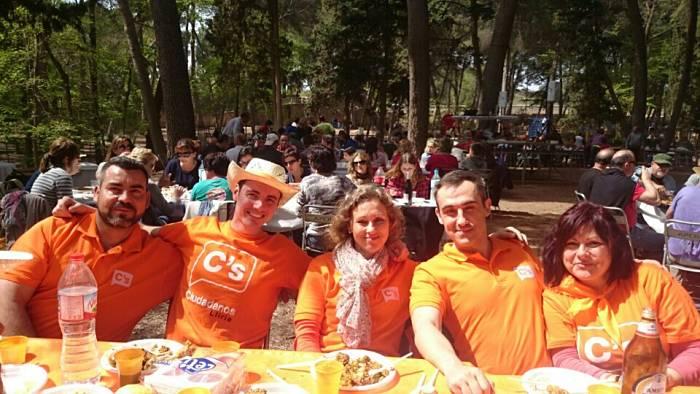 Miembros de la candidatura de Ciudadanos al Ayuntamiento de Llíria.