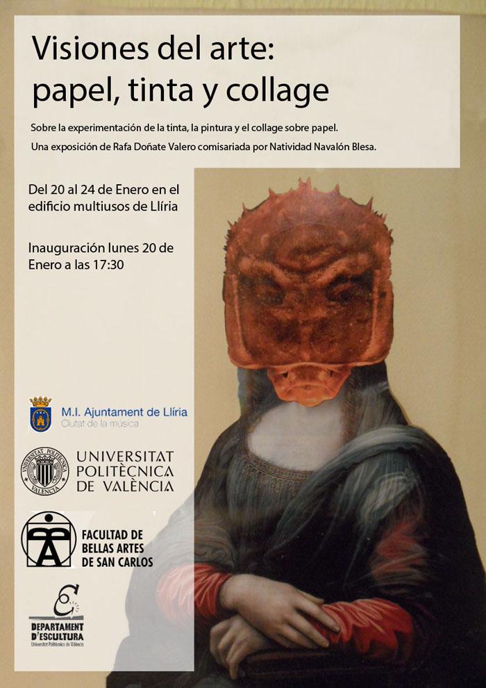 Cartell de la mostra de Rafa Doñate