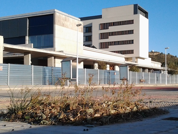 Las obras del Hospital de Llíria comenzaron en el año 2007.