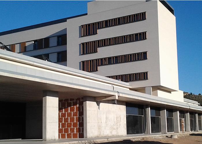 La inauguración del Hospital de Llíria está prevista a principios del próximo mes de marzo.