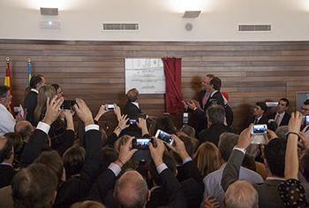 Acto de inauguración del Hospital de Llíria