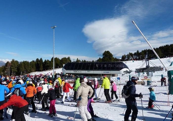 Estación de esquí de Masella, en el pirineo catalán.