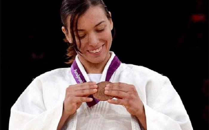 La judoca Mónica Merenciano. Foto:monicamerenciano,com