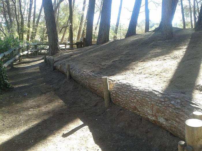 Nuevo paseo peatonal habilitado en el Parque de San Vicente