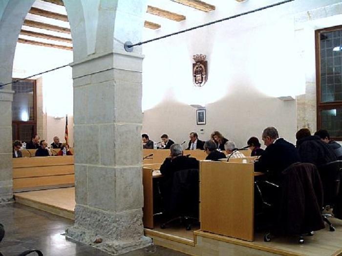 Pleno del Ayuntamiento de Llíria.