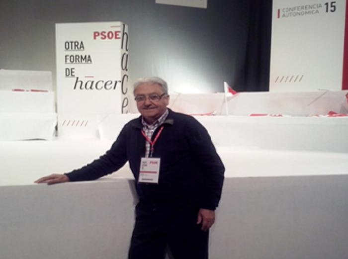 El candidato del PSPV de Loriguilla, Manuel Cervera.
