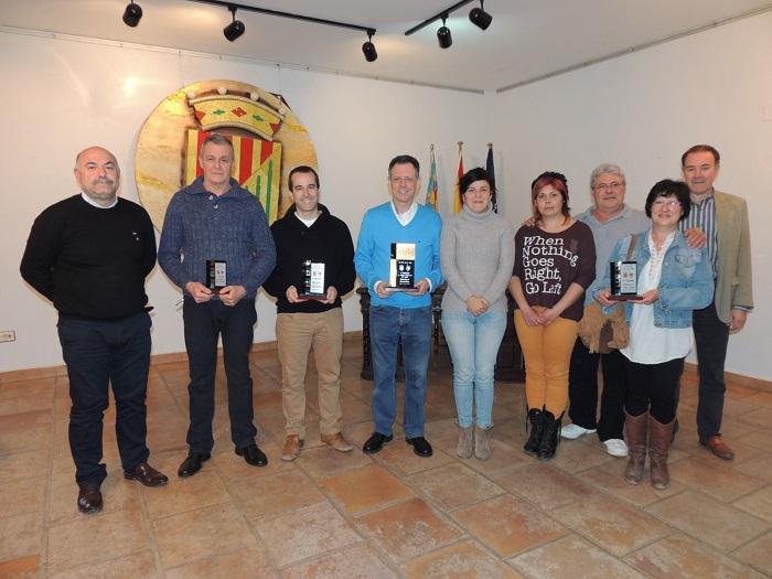 Ganadores del concurso de la Ruta de la Tapa del 2014.
