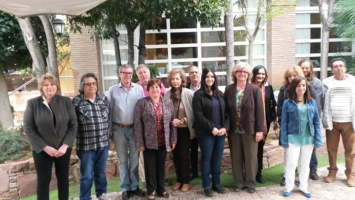 Representantes de IVIN y Compromís integrados en la candidatura de la coalición electoral 'Unidos por Nàquera'.