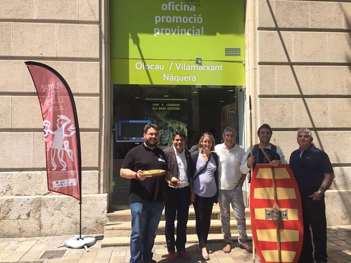 Olocau promociona sus atractivos en la oficina de turismo de valencia infot ria peri dic del for Oficina turismo valencia