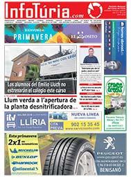Edició d'abril de 2019 Periòdic InfoTúria