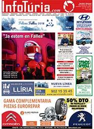 Edició de març de 2018 Periòdic InfoTúria