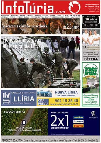 Edició de novembre de 2020 Periòdic InfoTúria