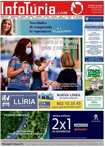 Edició de setembre de 2020 Periòdic InfoTúria