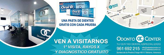 Promoción cepillo eléctrico Oral B en Odonto Center Bétera