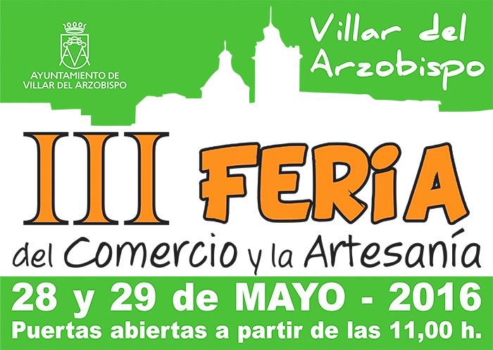 Villar delArzobispo abre sus puertas, el 28 y 29 de mayo, para promocionar su gastronomía, su artesanía y su turismo rural