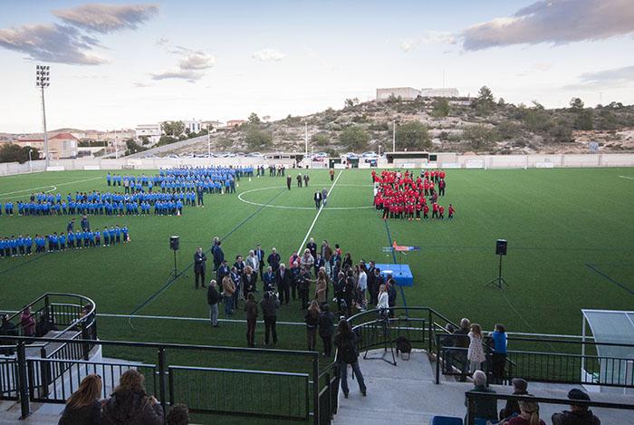 Inauguración Campo de Fútbol de Riba-roja