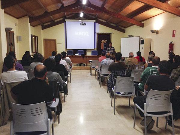 Curso de Agricultura ecológica en Riba-roja de Túria, comarca del Camp de Túria