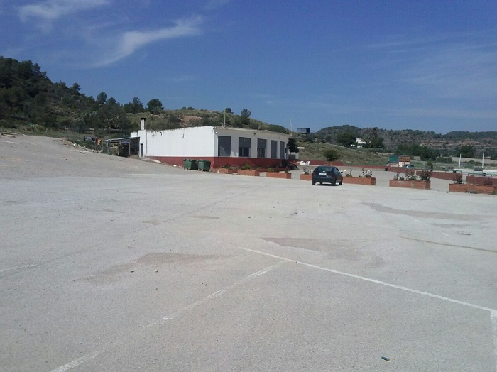 Instalaciones del campo de tiro municipal de Riba-roja de Túria.