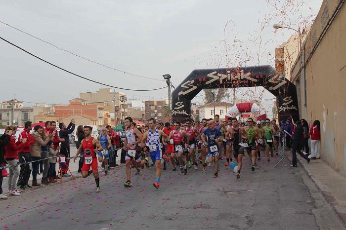 Duatlon celebrado en Riba-roja de Túria este año.