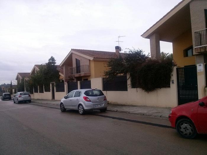 Viviendas de la urbanización la reva de Riba-roja de Túria.