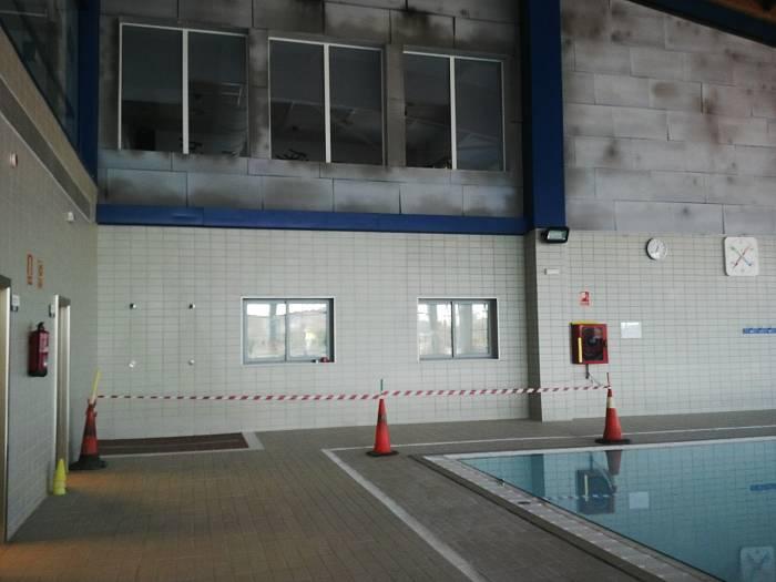 Comienzan las obras de reparaci n de la piscina de la for Piscina cubierta ronda