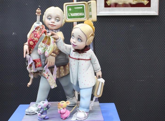 Ninot Indultat en categoría infantil.