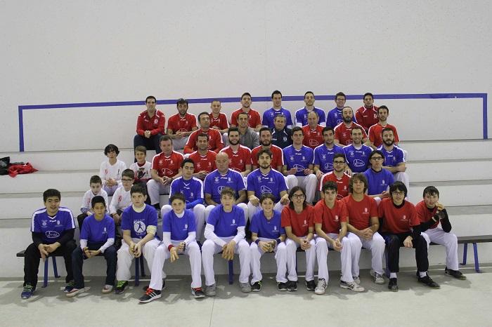 Presentación de los equipos del club de pelota valenciana de Riba-roja.