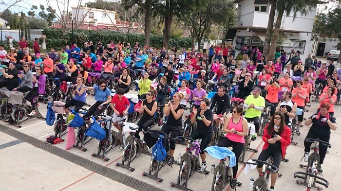 Participantes en la segunda 'Masterclass Solidaria' en Riba-roja de Túria.
